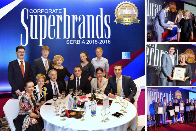 Bel Medic - The winner of the prestigious Corporate Superbrands Serbia Award 2015 - 2016.