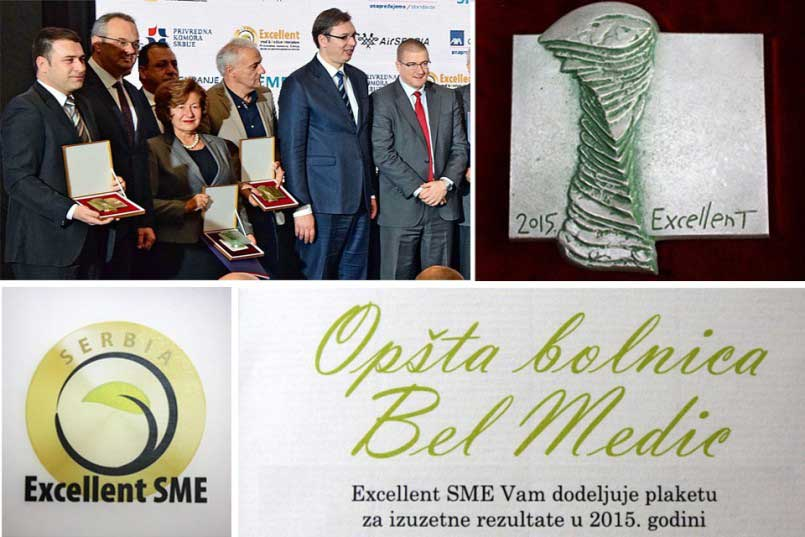 Bel Medic among 4 best in Serbia