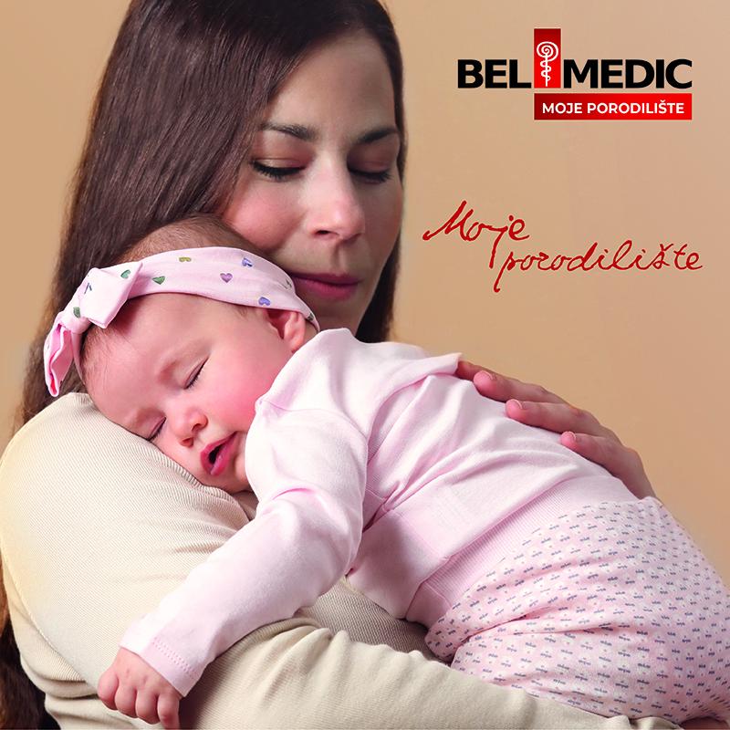 U Bel Medic porodilištu omogućićemo da se Vi i Vaša beba  osećate kao kod kuće
